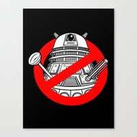 TimeBusters Canvas Print
