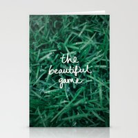 The Beautiful Game Stationery Cards