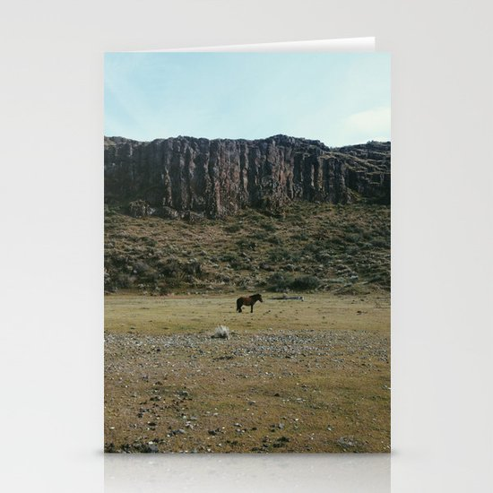 Rock Pasture Pony Stationery Card