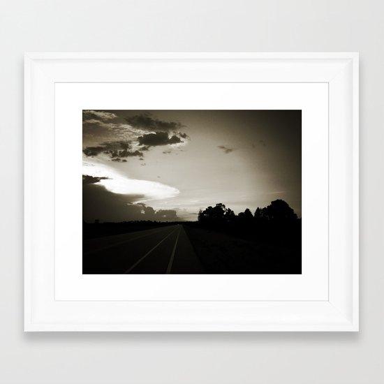 Almost Home Framed Art Print