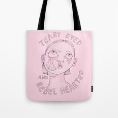 Teary Eyed And Rebel Hea… Tote Bag