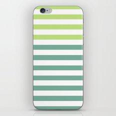 JADE STRIPES iPhone & iPod Skin