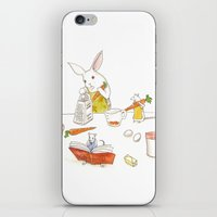 Grating Carrots iPhone & iPod Skin