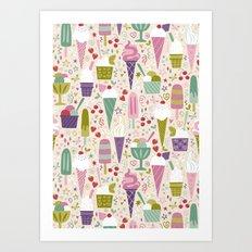 Summer Delights  Art Print