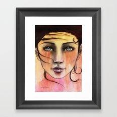 Femme Sunrise Framed Art Print