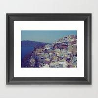 Oia, Santorini, Greece I… Framed Art Print