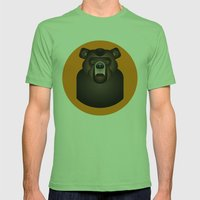 Bear Mens Fitted Tee Grass SMALL