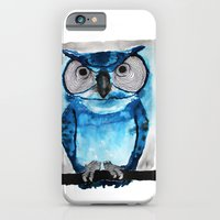 iPhone & iPod Case featuring Blue Owl by Condor