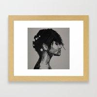 err Framed Art Print