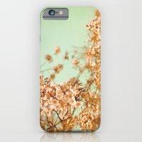 flowering cherry trees iPhone 6 Slim Case