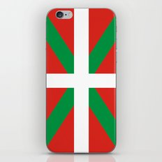 basque people ethnic flag spain iPhone & iPod Skin