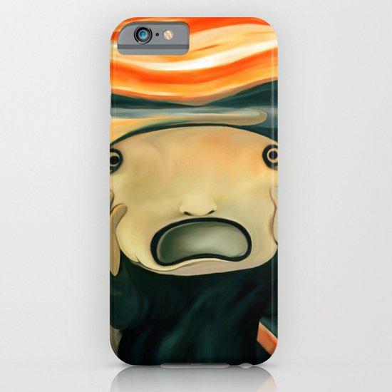 The scream iPhone & iPod Case