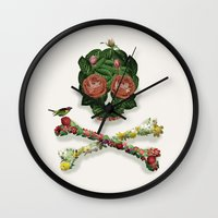 Life (colour Option) Wall Clock