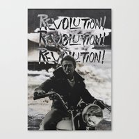 REVOLUTION! REVOLUTION! REVOLUTION! Canvas Print