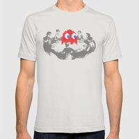 Medium Difficulty Mens Fitted Tee Silver SMALL