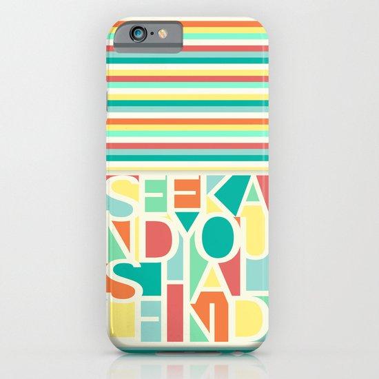 Seek iPhone & iPod Case