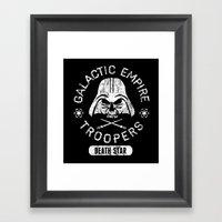 Bad Boy Club: Galactic Empire Troopers Framed Art Print