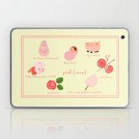 Colors: Pink (Los Colore… Laptop & iPad Skin