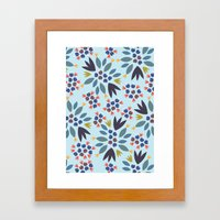 Blueberry 2 Framed Art Print