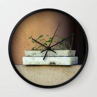 Seedlings Wall Clock