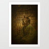 Belzebuth Art Print