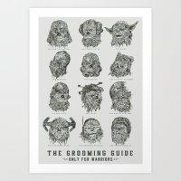 The Grooming Guide Art Print