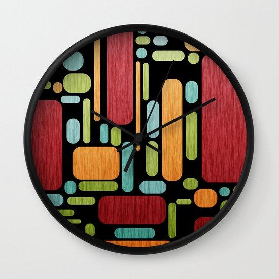 Retro Switch. Wall Clock