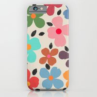 iPhone Cases featuring Dogwood 1 by Garima Dhawan