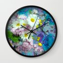 She comes in colors Wall Clock