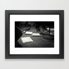 Eddie Vedder Concert Setlist Framed Art Print
