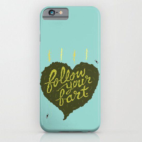 Follow Your Fart iPhone & iPod Case