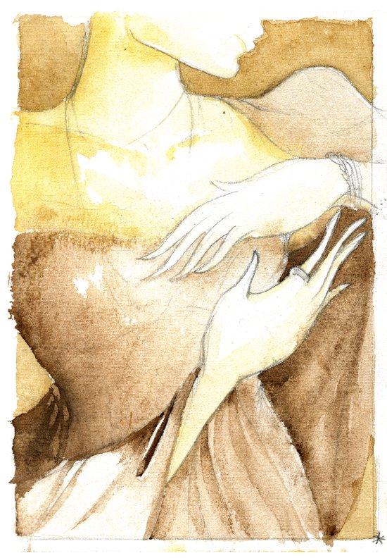 """Her New Life""  Art Print"