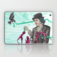 I'm Exhausted from Trying to Believe Unbelievable Things Laptop & iPad Skin