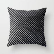 Carbon Fiber Throw Pillow
