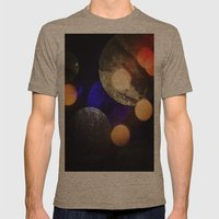 Planetary Mens Fitted Tee Tri-Coffee SMALL