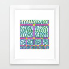 The Future : Day 17 Framed Art Print