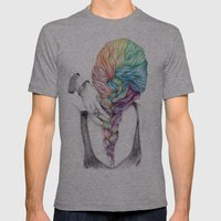 Braid Mens Fitted Tee Athletic Grey SMALL