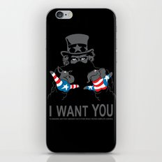 Uncle Scam iPhone & iPod Skin