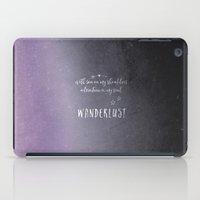 Wander {violet iPad Case