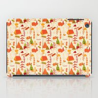 woods pattern iPad Case