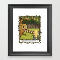 The March Hare And The H… Framed Art Print