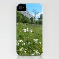 iPhone Cases featuring Norwegian Summer Idyll by Eirin Wie Haveland