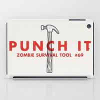 Punch it - Zombie Survival Tools iPad Case