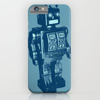 iPhone & iPod Case featuring Automaton March by Axiomatic Art