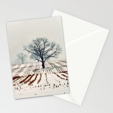 Winter Farm Stationery Cards