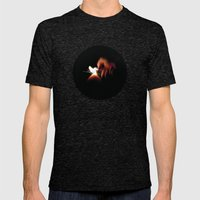 Spark Fire Mens Fitted Tee Tri-Black SMALL