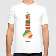 Apple Envy SMALL Mens Fitted Tee White