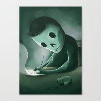 Unwritten Canvas Print