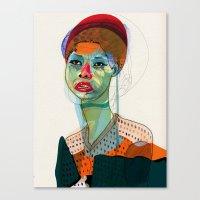 Girl_100412 Canvas Print
