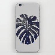 Monstera + Dots iPhone & iPod Skin